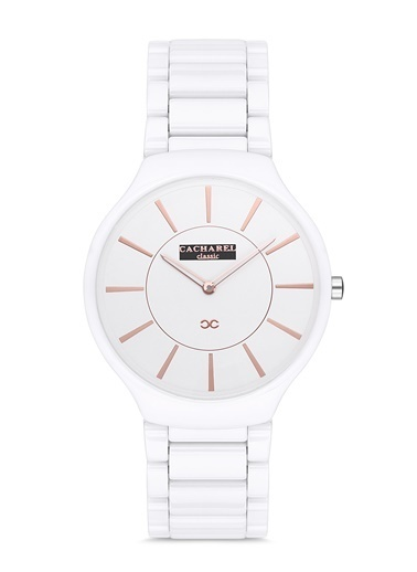 Cacharel Saat Beyaz